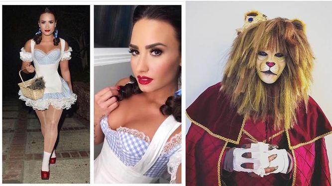 Celebridades latinas celebran su Halloween a lo sexy y divertido