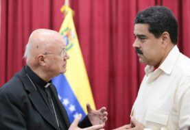 """La situación en Venezuela es """"muy difícil"""", dice enviado del Vaticano"""