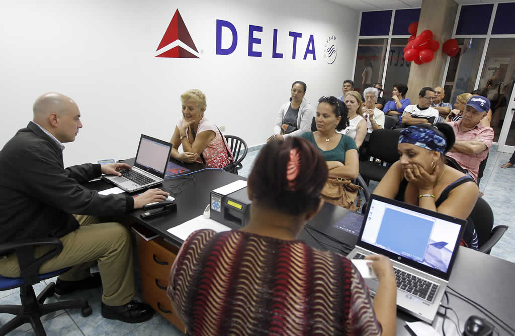 Delta tendrá tres vuelos diarios de EEUU a La Habana desde el 1 de diciembre