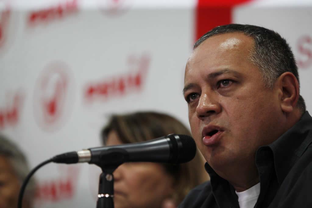 Diosdado Cabello dice no le ve futuro al diálogo en Venezuela y que no habrá comicios