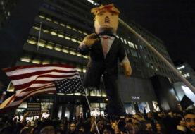 Protestas contra Donald Trump en Nueva York dejan 65 detenidos
