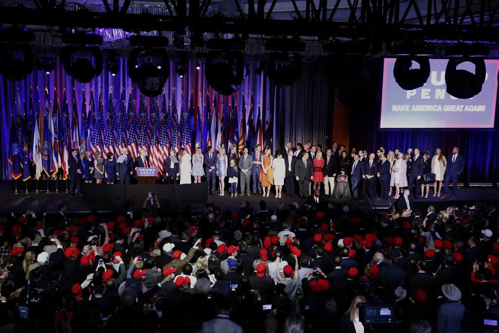 """Donald Trump: """"Es momento de que nos reconciliemos como un pueblo unido"""""""