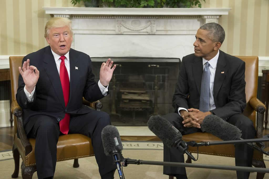 """Trump: """"Estoy deseando trabajar con el presidente en el futuro, incluido para pedir consejo"""""""