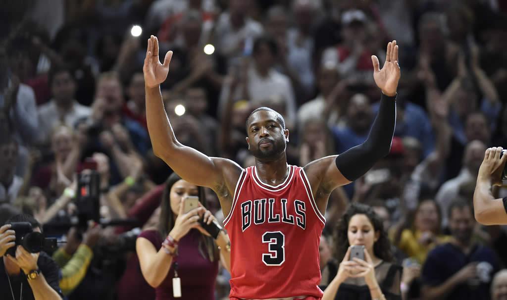 Regreso triunfal de Wade a Miami con victoria de los Bulls
