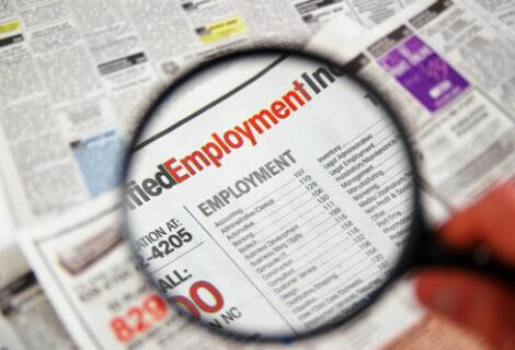 La tasa de desempleo en EEUU bajó al 4,9 % en octubre