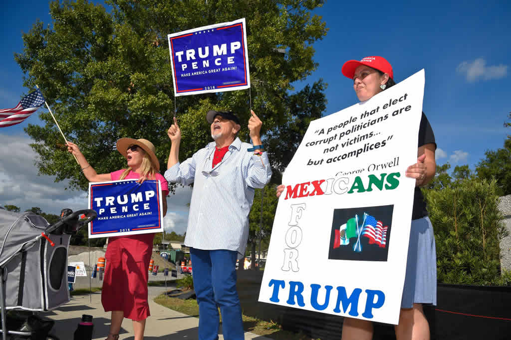 Trump se impuso a Clinton en Florida