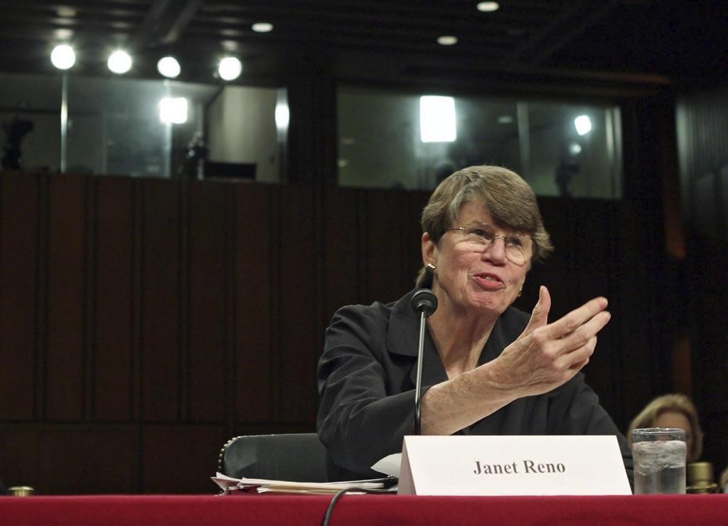 Falleció Janet Reno ex fiscal general de Estados Unidos