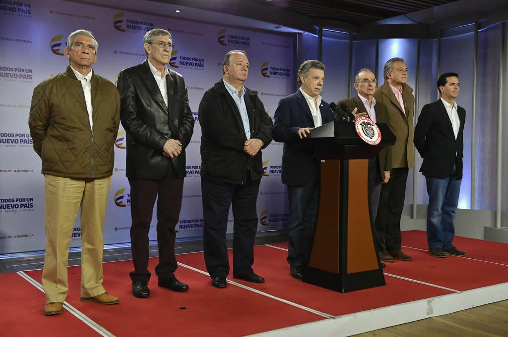 Santos se reunió con enviado especial de la UE para la paz de Colombia