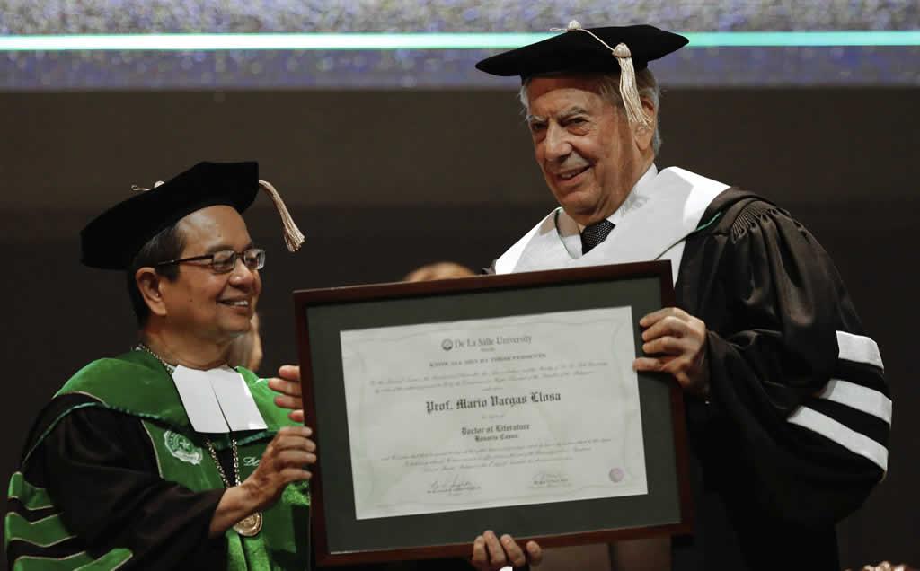 """Vargas Llosa: """"Leer es una forma de ser mejores ciudadanos"""""""