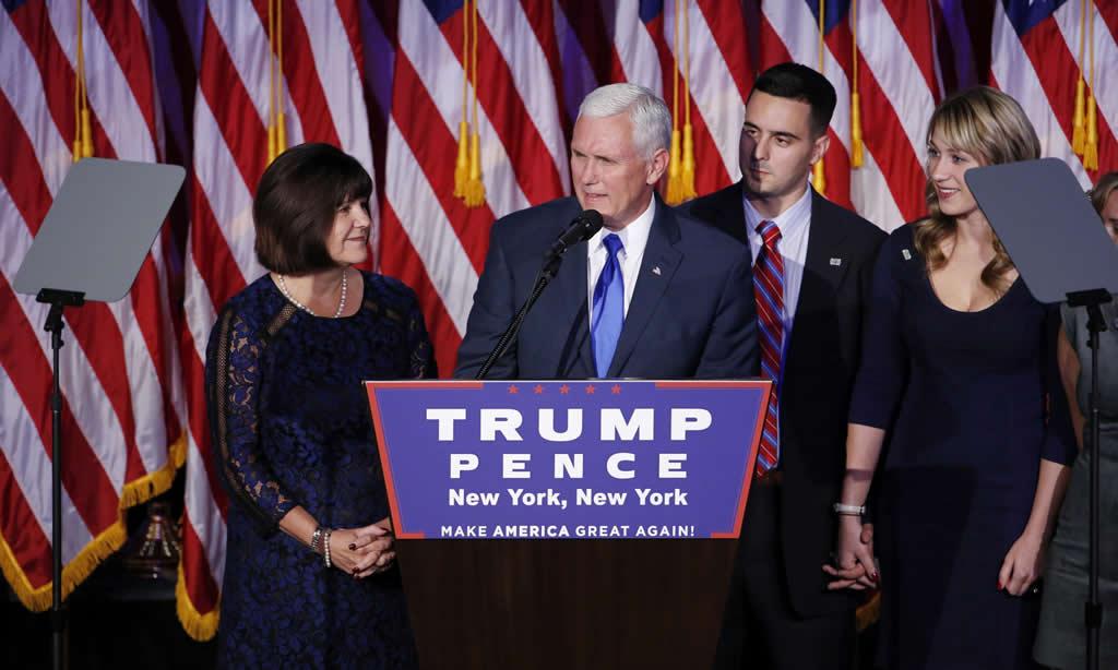 Mike Pence, un vicepresidente con experiencia para el novato Trump