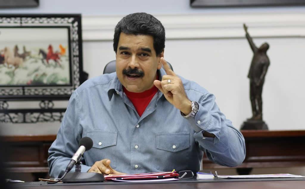 Maduro dice imperialismo busca atacar su esposa con los #narcosobrinos
