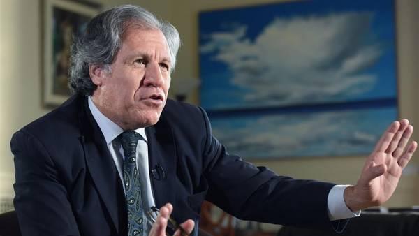 Almagro expresa pesar por la muerte del embajador venezolano ante la OEA