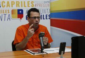 """Capriles: """"Maduro se ha burlado del Papa por incumplir acuerdos del diálogo"""""""