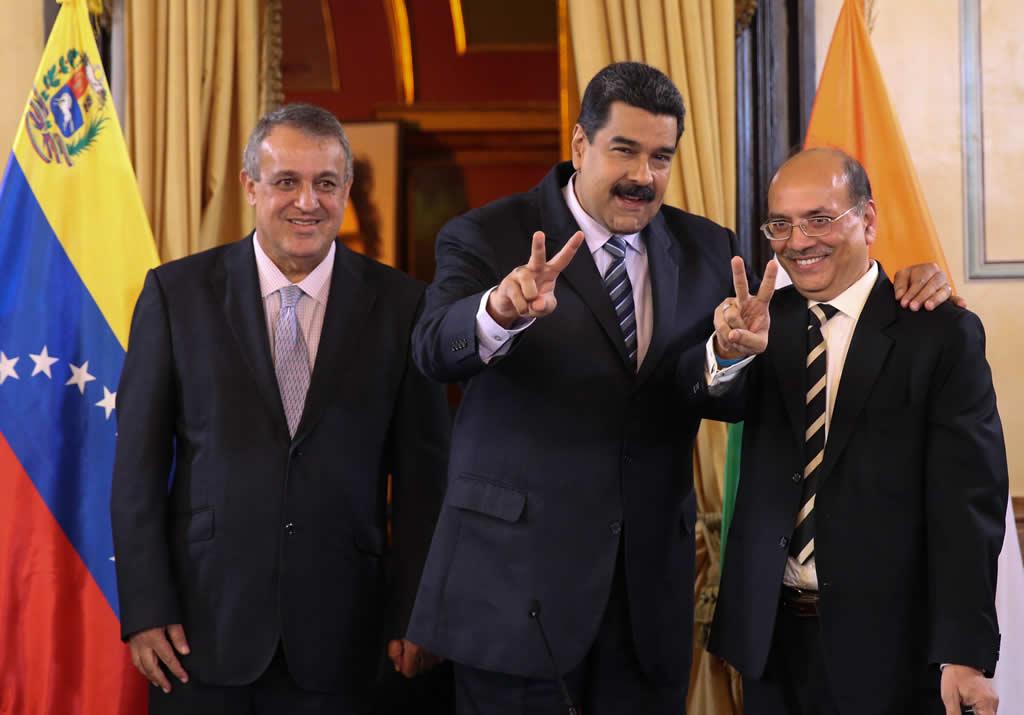 Venezuela e India firman acuerdo para aumentar producción de petróleo