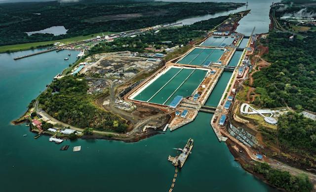 El Canal de Panamá alerta a la población sobre vertido de exceso de agua