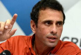 Capriles asegura que el Gobierno de Maduro abandonó mesa de diálogo