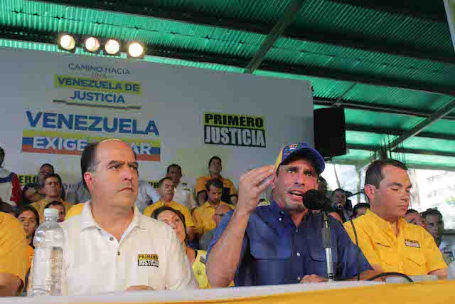 """Primero Justicia pide a Zapatero que """"cuide las formas"""" como mediador"""