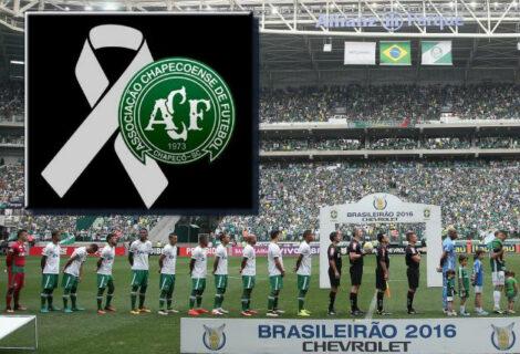 """Brasil, de luto, se vuelca con el Chapecoense: """"#ForçaChape!"""""""