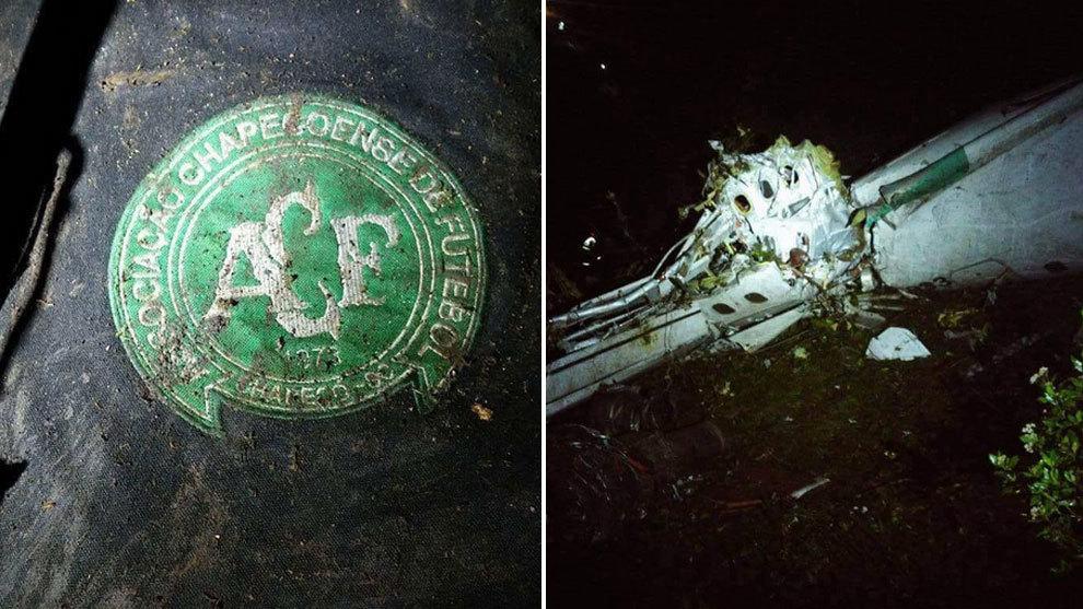 El fútbol mundial de luto al estrellarse el avión del Chapecoense