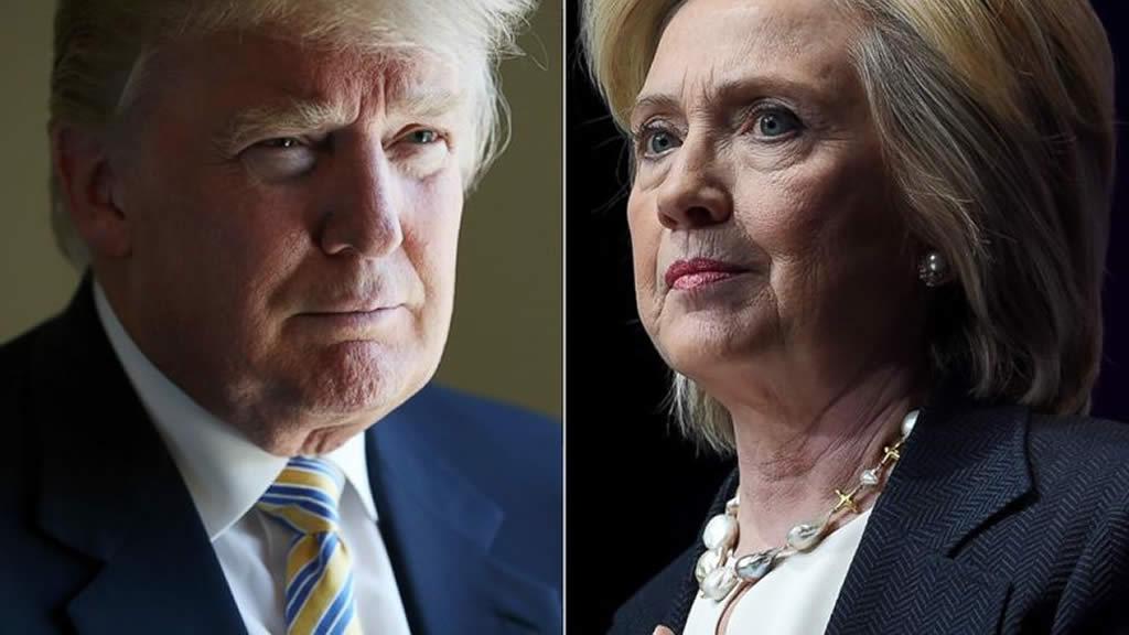 Clinton aventaja a Trump por un punto en Florida