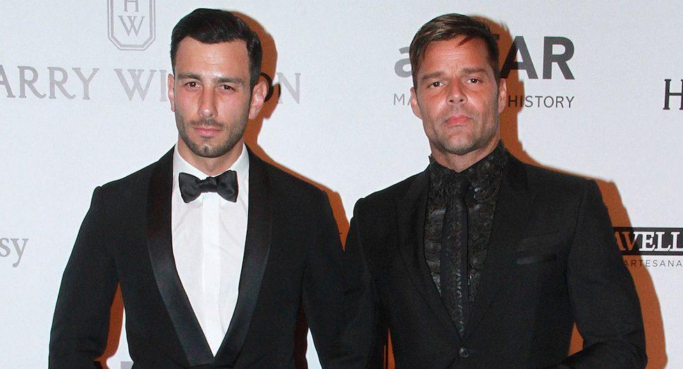 Ricky Martin propone matrimonio a su novio y anuncia actuaciones en Las Vegas