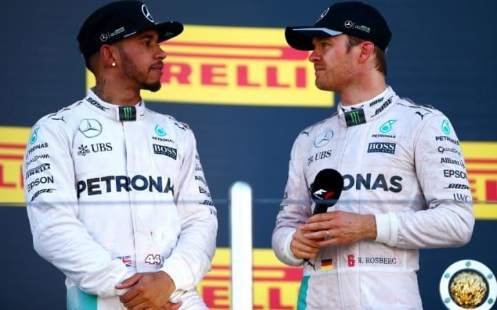 Rosberg admite que su relación con Hamilton es y será difícil pero respetuosa