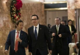 Trump elige a Steven Mnuchin como secretario del Tesoro
