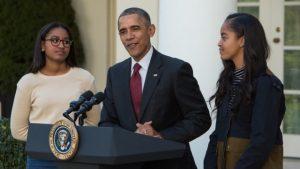 """Obama pide unidad tras una campaña """"divisiva"""" en su último Acción de Gracias"""