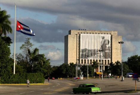 Luto en la Plaza de la Revolución
