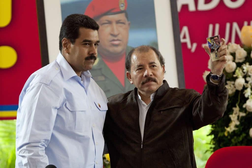 Maduro felicitó a Daniel Ortega por reelección en Nicaragua