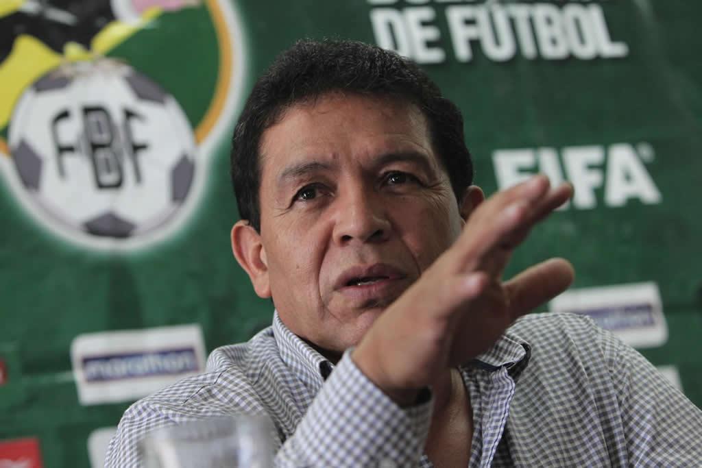 Jugadores piden dimisión de presidente de la Federación Boliviana de Fútbol