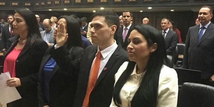 Rosmit Mantilla vuelve al parlamento venezolano