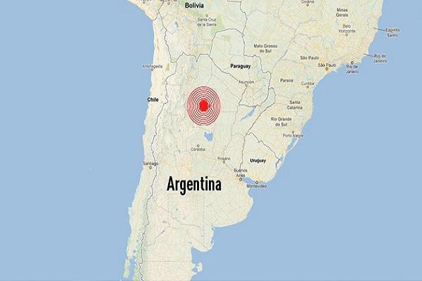 Un sismo de magnitud 6,4 sacude el oeste de Argentina