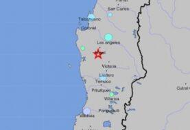 Sismo de magnitud 4,8 sacude las regiones chilenas de Biobío y La Araucanía