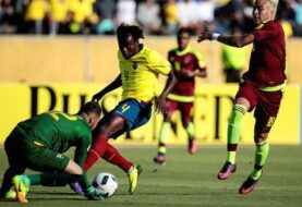 Vinotinto cayó goleada ante Ecuador