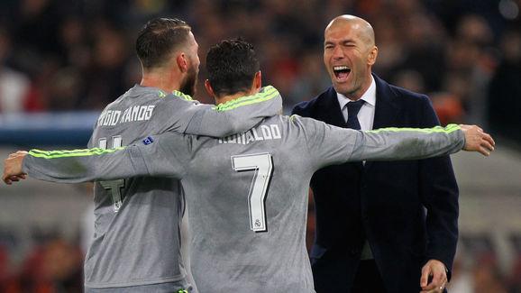 Zidane repite convocatoria con Ramos y Benzema listos para jugar