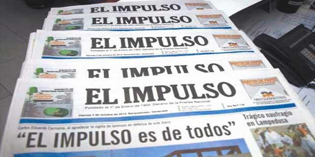 """La SIP denuncia """"burda censura"""" que deja sin edición impresa a El Impulso"""