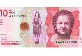 Circula el nuevo billete de 10.000 pesos con imagen de antropóloga colombiana