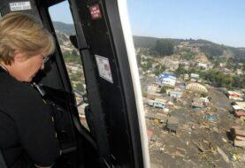 Bachelet viaja a zona afectada por terremoto de 7,6 en el sur de Chile
