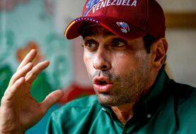 Capriles llama a hacer presión a favor de elecciones generales en Venezuela