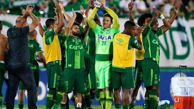 El Chapecoense anuncia que no jugará el último partido de Liga
