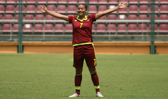 Venezolana Daniuska Rodríguez finalista para el premio FIFA