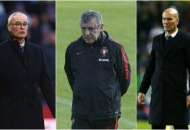 Ranieri, Fernando Santos y Zidane, candidatos a mejor entrenador del año