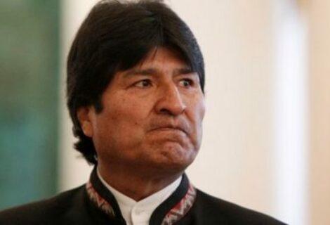 Estados Unidos comunica a Bolivia una amenaza contra el presidente Morales