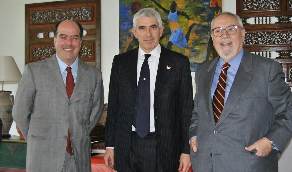 Presidente del Comité de Relaciones Exteriores del Senado de Italia suma apoyo a Julio Borges
