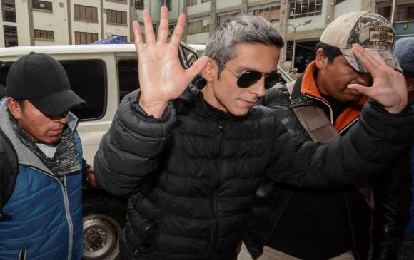 Jueza envía a prisión a hijo del director de la aerolínea boliviana Lamia
