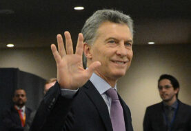 """Macri llama a luchar contra el cambio climático y """"cuidar"""" el planeta"""