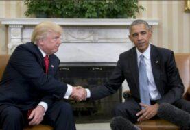 Obama deja un legado controvertido y amenazado por Trump