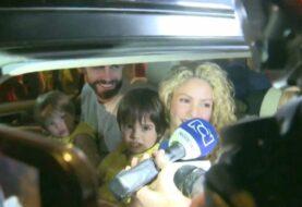 Shakira y Piqué llegan a Colombia con sus hijos para pasar el fin de año