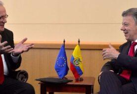 Santos firmará con la UE fondo de apoyo al postconflicto en Colombia